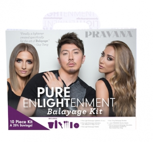 Pravana Rolls Out Pure Enlightenment Balayage Kit
