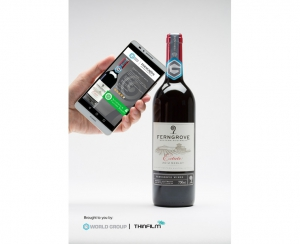 'Smart Wine Bottle' Using NFC Tags Bring Authentication, Communication Benefits