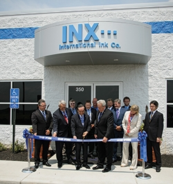 INX celebrates new Ohio manufacturing facility with Open House event