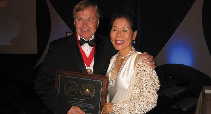 George Sickinger Receives  NAPIM's Ault Award
