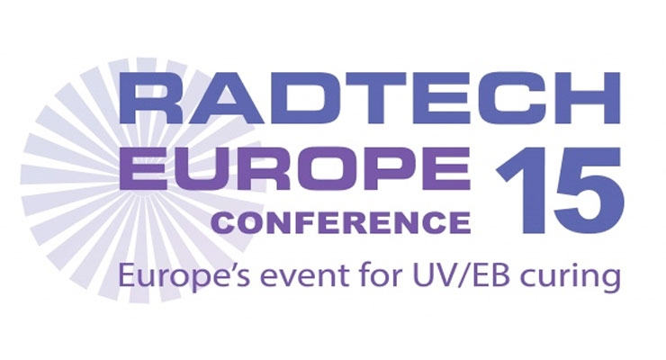 UV and EB Industry Set to Gather at RadTech Europe 2015