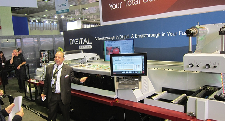 Hybrid presses unveiled at Labelexpo Europe