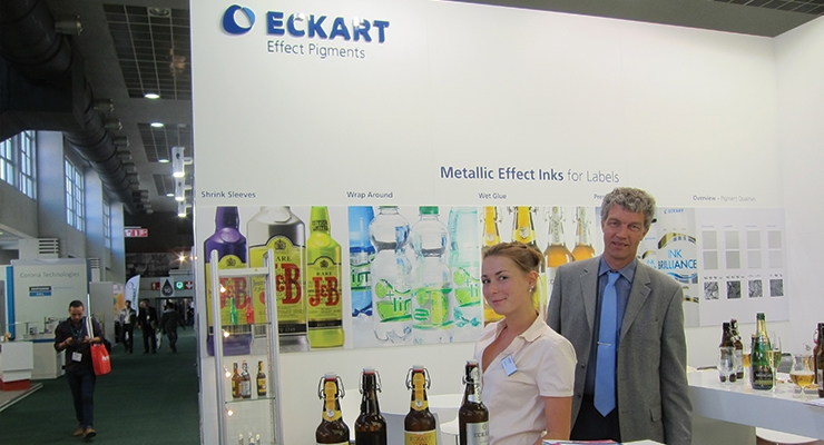 Ink innovation on display in Brussels