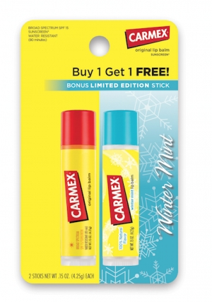 Carmex Presents Winter Mint