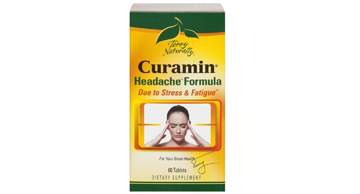 Terry Naturally Line Adds Curamin Headache Formula