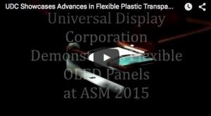 Universal Display Shows Flexible OLED Lighting Advances