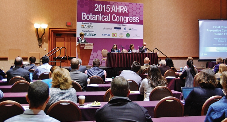 Herbal Product Insights from AHPA's 2015 Botanical Congress