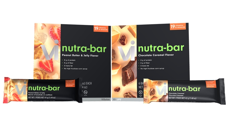 ViSalus Launches Nutra-Bar Snack Line