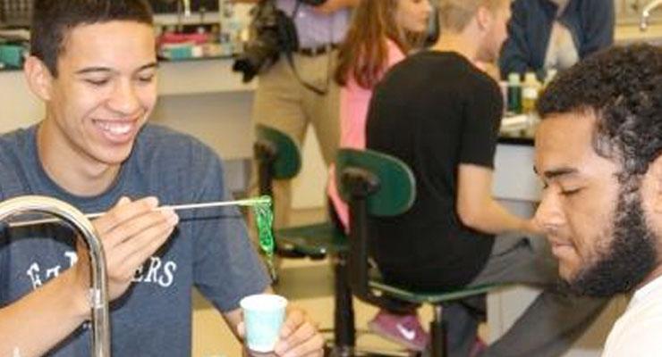 SPE Plastivan Introduces Local High School Students to World of Plastics