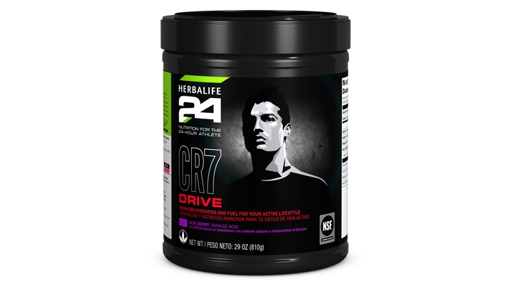 CR7 Drive enhances hydration with 320 mg of vital electrolytes.