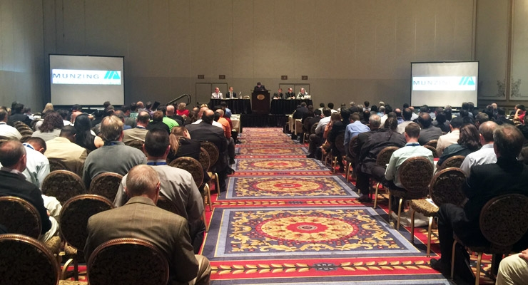 Scenes from the Western Coatings Symposium