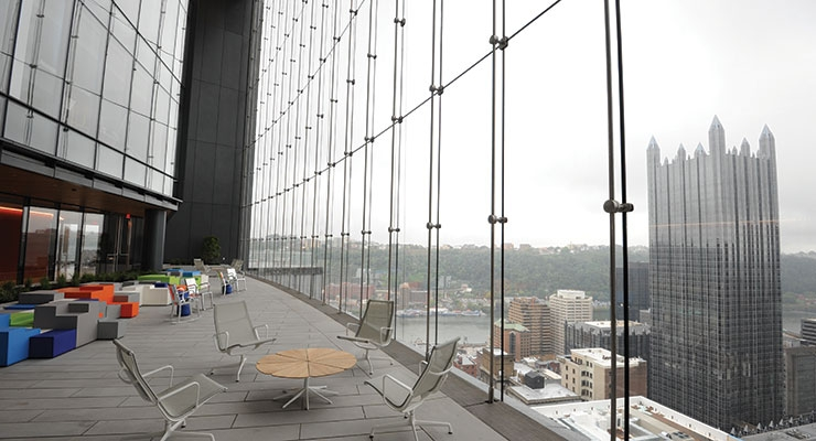 PPG Coatings  Featured on The Tower  at PNC Plaza