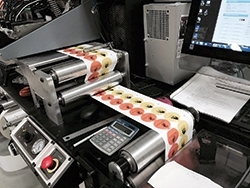 Colordyne's Rotary Pro digital label converting system helps PLS