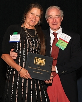 Lauterbach Group receives TLMI Environmental Leadership Award, Yerecic Label and Dow Chemical recogn