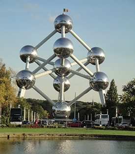 By the burnished balls of Brussels