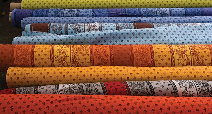 Textiles are an area of interest for printers.