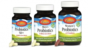Carlson Laboratories Presents Women's Probiotics, Men's Probiotics and Probiotics 50+