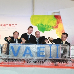 Celanese Emulsion Polymers doubles VAE capacity in China