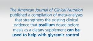Infographic: Psyllium Can Help with Glycemic Control