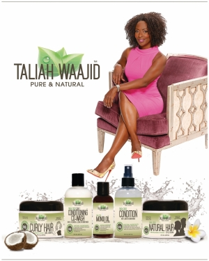 Taliah Waajid Rolls Out New Hair Care Line