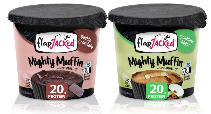 FlapJacked Presents High Protein and Probiotic Mighty Muffins