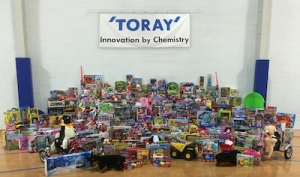 Toray Plastics (America) gives back this holiday season