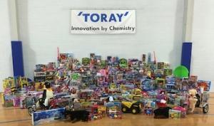 Toray Plastics (America) gives back this holiday season