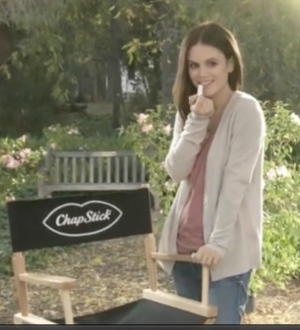 Chapstick Taps Rachel Bilson