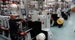 Reflex Labels installing eight Mark Andy Performance Series presses