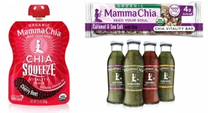 Mamma Chia Offers Omega-3 Rich Snacks and Drinks