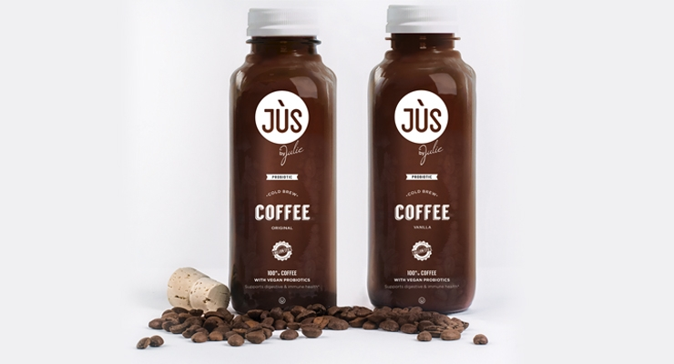 Probiotic Cold Brew Coffee includes 1 billion CFU's of GanedenBC30.