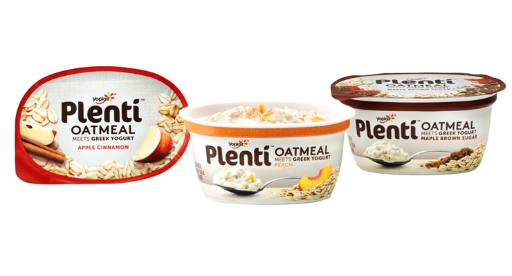 General Mills Adds Plenti Oatmeal Meets Greek Yogurt