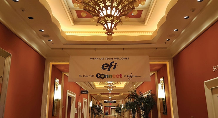 Wynn Las Vegas hosts largest EFI Connect to-date
