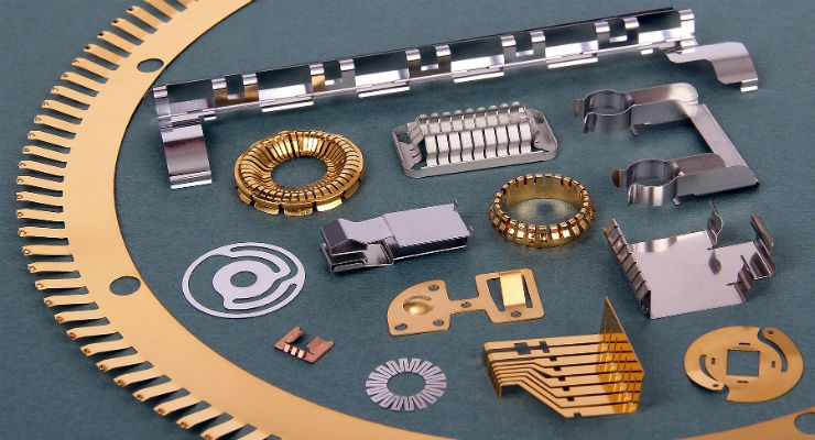 Photo Etching Metals with Spring Characteristics