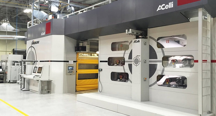 Avintiv Starts Up A.Celli Nonwovens Printing Line in Mexico