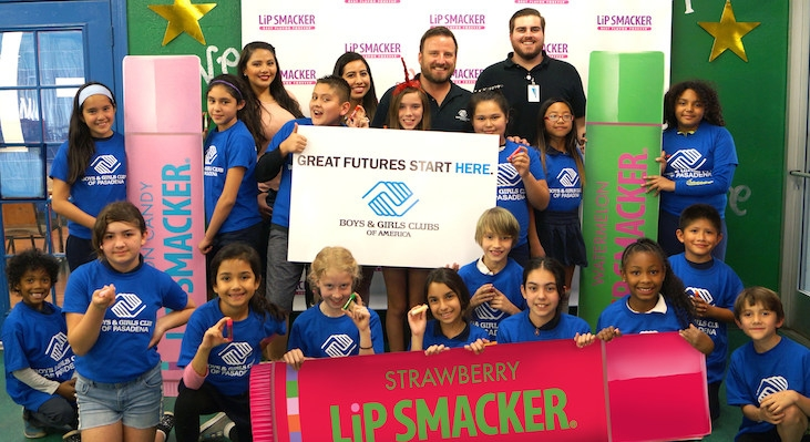 Lip Smacker Partners with Boys & Girls Club of America