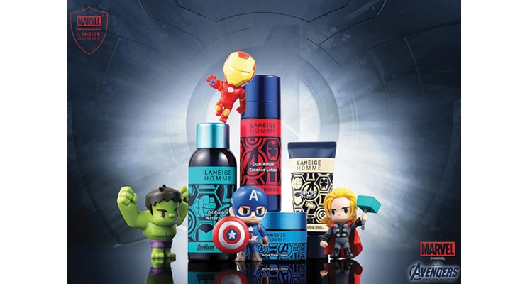 This high-quality personal care range from Laneige Homme is packaged to appeal to collectors.