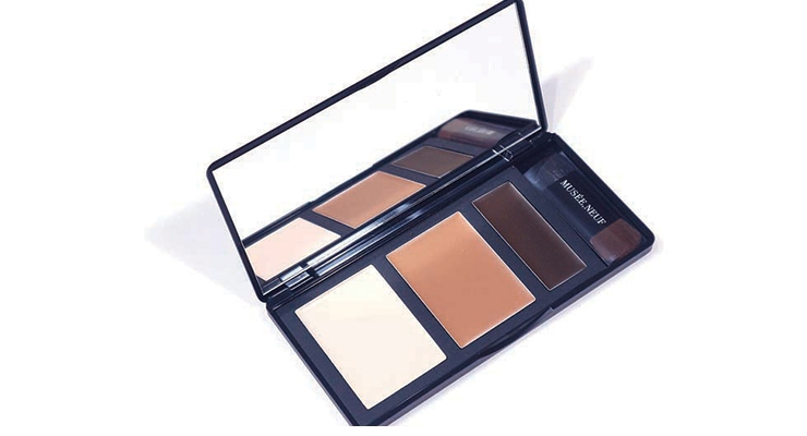 The Musee Neuf 3D Palette capitalizes on the Korean personalization trend, enabling consumers to mix up to three colors to shade and highlight their complexion.