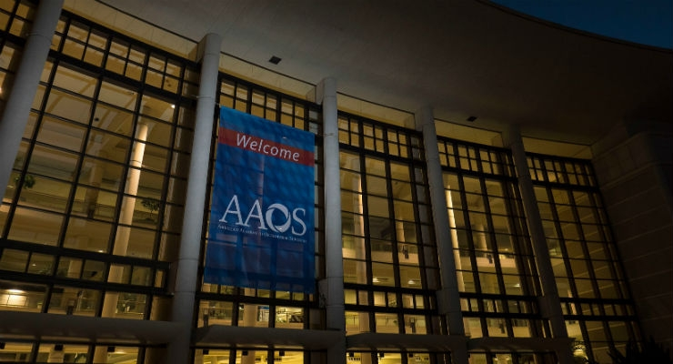 The AAOS event proved to be an exceptional educational opportunity.