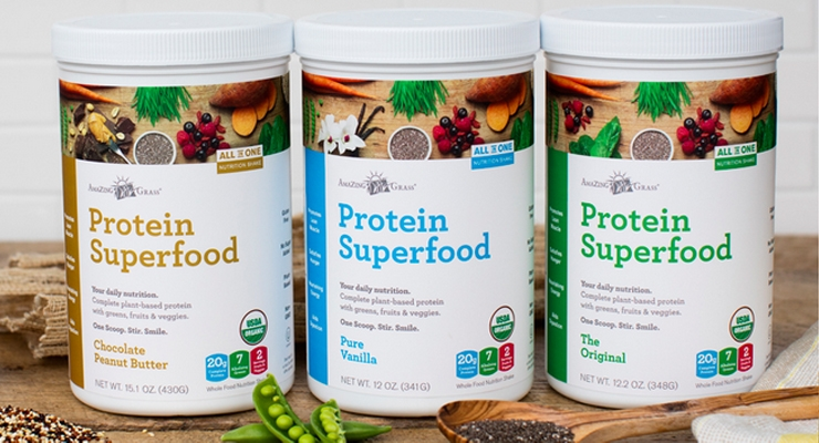 Amazing Grass Debuts Protein Superfood Line