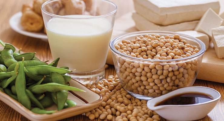 Soybeans offer a range of functional properties and high nutritive value.
