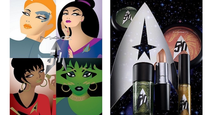 MAC Cosmetics To Launch Star Trek Collection