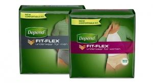 Depend Brand Improves Fit-Flex Underwear