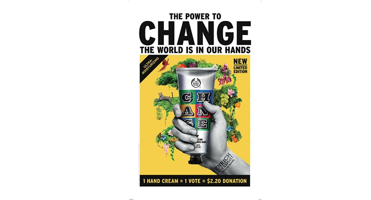 The Body Shop's iconic Hemp Hand Protector gets a limited-edition packaging re-design by street artist EINE. A portion of sales is donated to environmental causes.