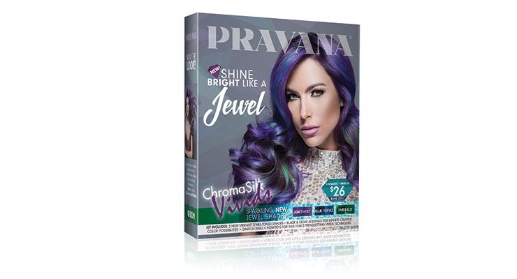 Pravana's new Vivids Jewels hair color