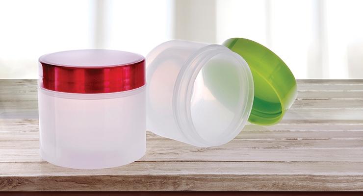 Olcott's PET jars, ideal for hair treatments.
