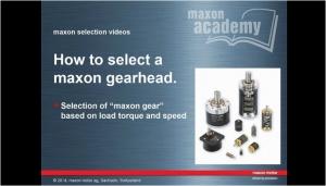 Gearhead Selection EN