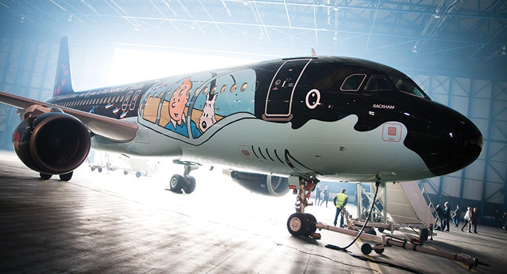 Photo courtesy of  Brussels Airlines / Mankiewicz Coatings