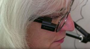 Device Worn on Eyeglasses