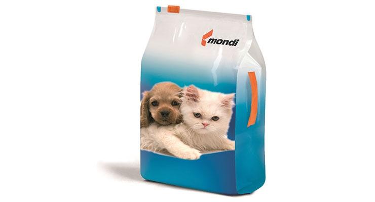Flexible pet food packaging